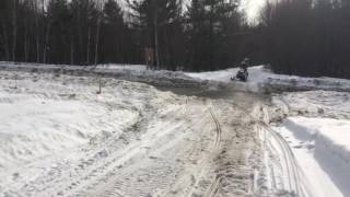 5. 2017 Polaris Indy SP 600 MBRP Trail Can