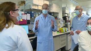video: Prince William visits Covid-19 vaccine scientists: 'People will breathe huge sigh of relief' when you crack it