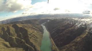 Cromwell New Zealand  city photos : New Zealand Helicopter Tour with Heliview Flights, Cromwell NZ, Part 2
