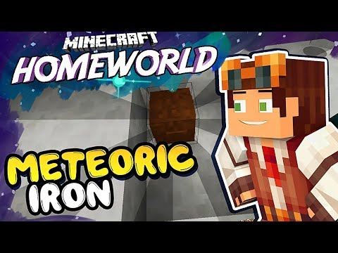 METEORIC IRON HUNT • Homeworld: Steven Universe Let's Play in Minecraft! [#49]