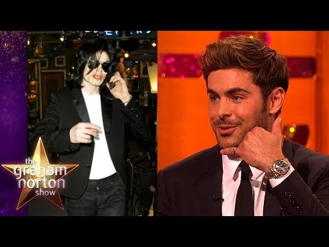 Zac Efron Made Michael Jackson Cry! | The Graham Norton Show