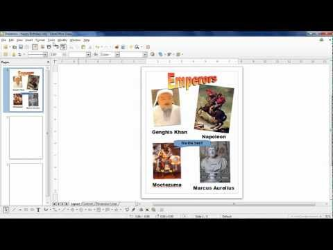 Intro To LibreOffice Draw