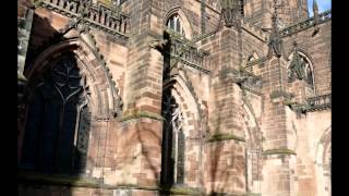 Cheshire United Kingdom  city pictures gallery : Chester (Cheshire UK) Cathedral + St Johns on the cliff, and historic walk about.