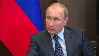 Putin warns Turkey after Russian jet downed