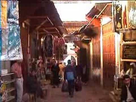 Visite de Fez au Maroc
