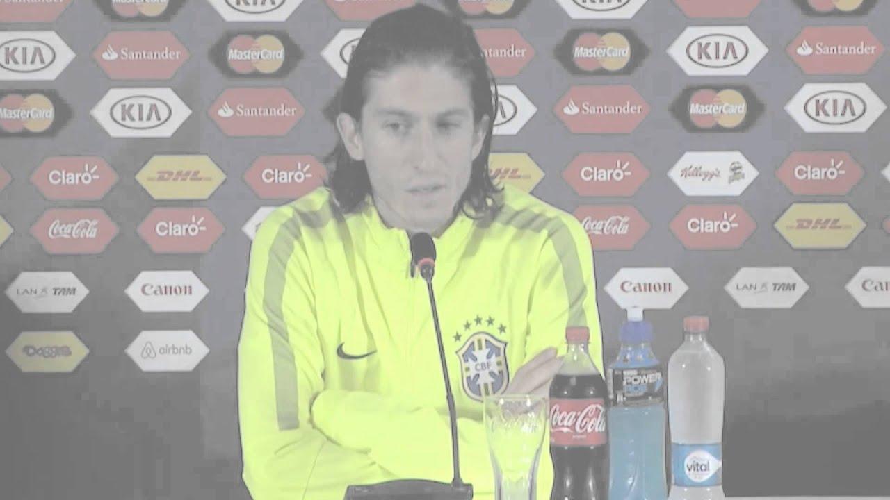 """Copa América 2015: Cuartos de Final: Filipe Luíz: """"Este es otro partido"""" #CopaAmericaChile2015"""