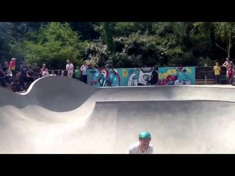 Oxford Wheels Project BMX jam - bowl best trick.