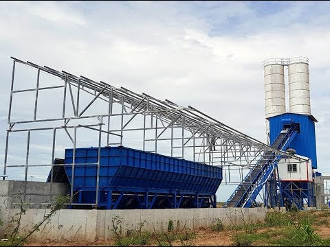 120m3/h - Concrete batching plant in Cambodia - Vinhson Co., Ltd