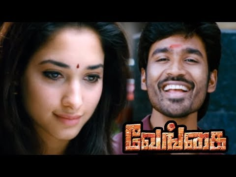 Venghai | Vengai Tamil full Movie  Scenes | Local Rowdy insults Dhanush | Dhanush falls for Tamanna
