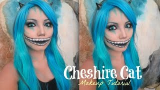 Freaky Cheshire Cat Makeup Tutorial ( Halloween 2014)