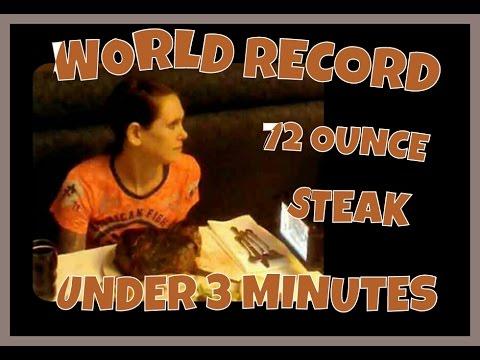 This 128 Pound Lady Demolishes This 72 OZ STEAK!!!!!!!!!!!!!!!!!!!!!!!!!!!!!!!!