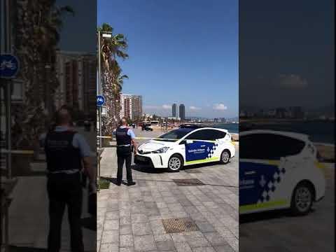 Video - Βαρκελώνη: Εκκενώθηκε παραλία έπειτα από τον εντοπισμό εκρηκτικού μηχανισμού