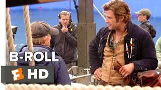 In the Heart of the Sea B-ROLL 2 (2015) - Chris Hemsworth, Brendan Gleeson Movie HD