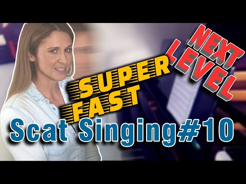 Jazz Tutorial: How To Scat Sing SUPER Fast