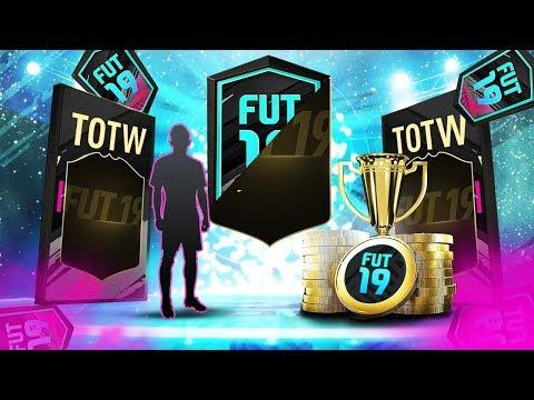 700K TRADEABLE IF PULL!! TOTW SBC! fifa 19 ultimate team fut