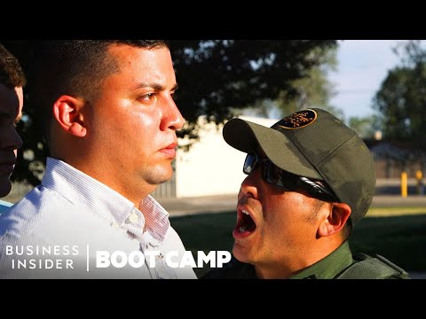What New Border Patrol Recruits Go Through At Boot Camp