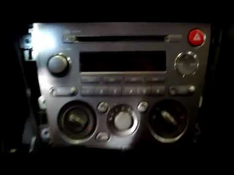 How To Remove A 05,09 Subaru Legacy, Forester, Outback Radio