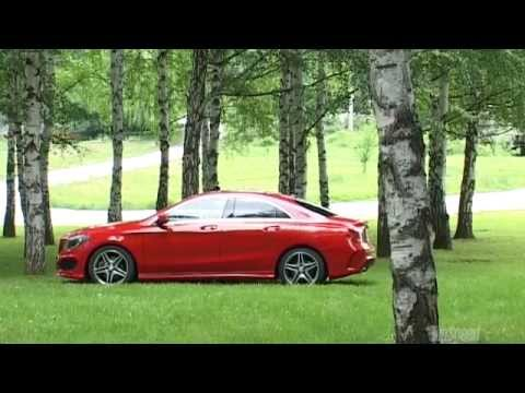 NEW 2013 Mercedes Benz CLA 220 CDI - Driven by TopSpeed Magazine Serbia