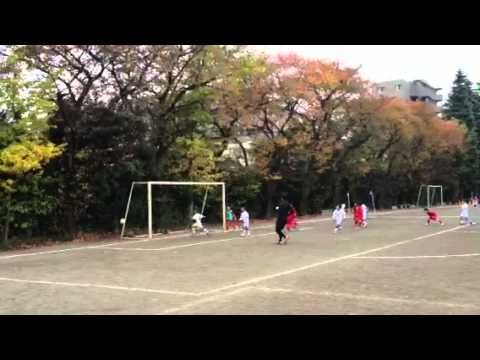 2012.11.24ジュニアカップ二試合目後半(vs下赤塚)