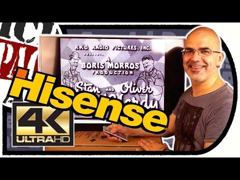 Preiswerte 4K GLOTZE -  Hisense UA42EC685 42Zoll Ultra HD Smart TV (Unboxing/Test)
