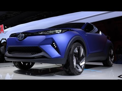 TOYOTA CONCEPT CAR - Oct. 2 (Bloomberg) -- Karl Schlicht, executive president at Toyota, discusses the automaker's new hybrid concept vehicle, production on their first fuel-cell...