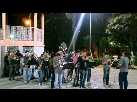 Lira Musical em Apresentação na Praça da Matriz em Perdigão
