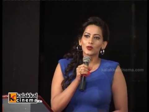 Director Manohar & Sanjana Singh at Ragalaipuram Movie Trailer Launch