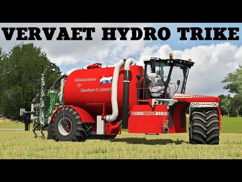 Vervaet Hydro Trike v2.0