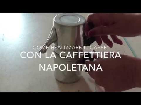 Come preparare il caffè con la caffettiera napoletana | How to use a neapolitan coffee brewer