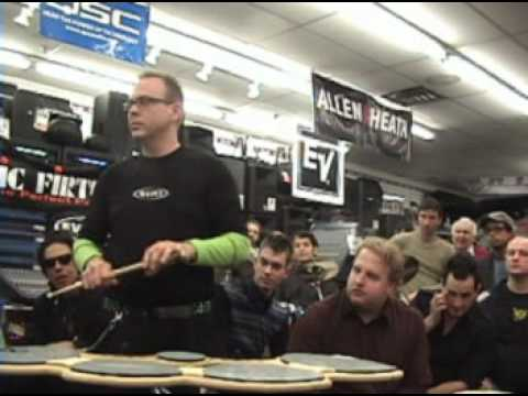 john donovan - DCI World Champion John Donovan Performs at 1st Sam Ash Drum Summit.