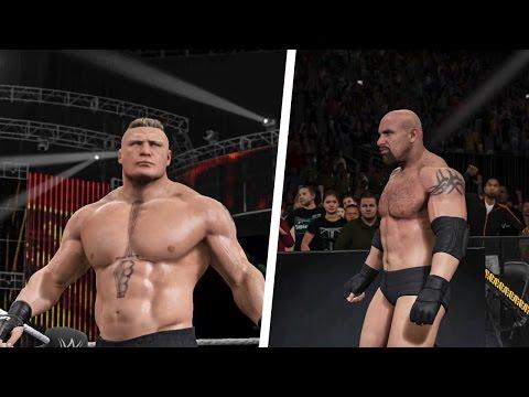 Video WWE 2K17 Survivor Series 2016 Goldberg vs. Brock Lesnar! download in MP3, 3GP, MP4, WEBM, AVI, FLV February 2017