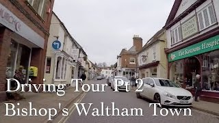 North Waltham United Kingdom  city pictures gallery : Driving tour Bishops waltham town Hampshire UK