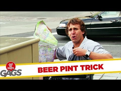 Beer Pint Trick Gone Wrong! - Youtube