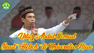 Video Abdul Somad buat ''Heboh'' di Universitas Riau MP3, 3GP, MP4, WEBM, AVI, FLV Oktober 2018