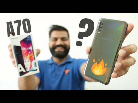 Samsung Galaxy A70 Unboxing & First Look - Bigger is Better!!! 🔥🔥🔥