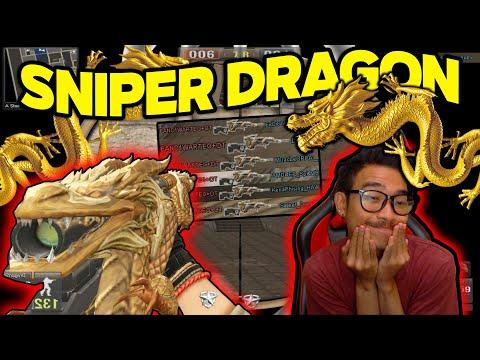 SNIPER DRAGON SAKIT BANGET?!! SINI CAHWIGUNA PAKE!! // Gameplay Point Blank Zepetto Indonesia