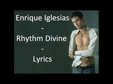 Enrique Iglesias-Rhythm Divine Lyrics