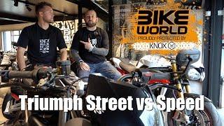 5. Triumph Street Triple RS vs Speed Triple R