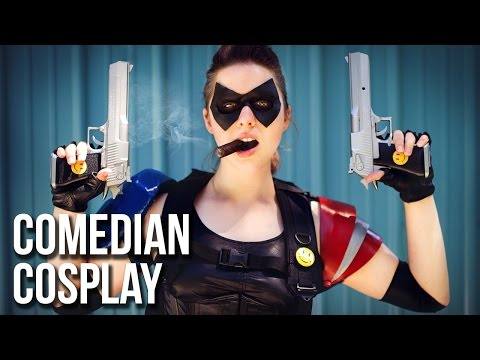Complete Comedian Cosplay