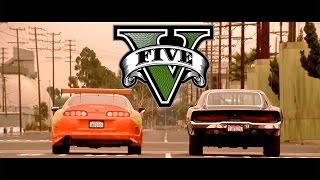 Nonton GTA V The Fast and The Furious - Drag Race Scene PS4 Film Subtitle Indonesia Streaming Movie Download