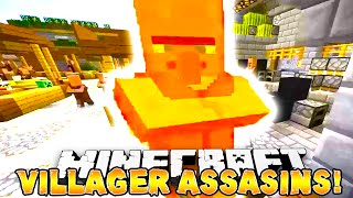"Minecraft - VILLAGER ASSASSINS! ""EPIC"" #1 - w/ Preston, Woofless, Lachlan, Nooch&Choco!"