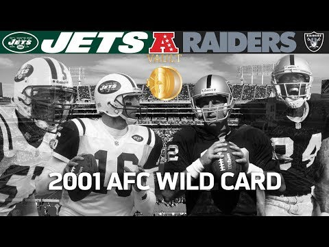 Gruden's Last Playoff Win With Raiders! (Jets vs. Raiders, 2001 AFC Wild Card)   Vault Highlights