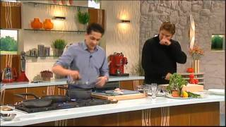 http://www.saturdaykitchenrecipesearch.co.uk ===== Francesco Mazzei Sardinian Fregola with Seafood ===== http://www.saturdaykitchenrecipesearch.co.uk ...