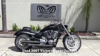 7. 2007 Victory Vegas Jackpot for sale in Tampa Florida