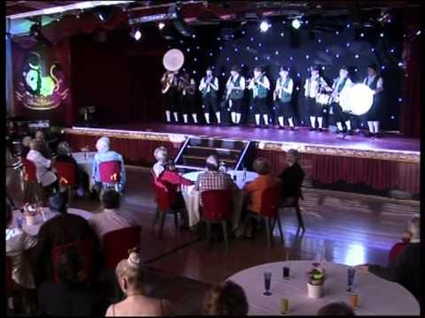 Emission télévisée Wéo Orchestre Bavarois Die Alten Kamaraden