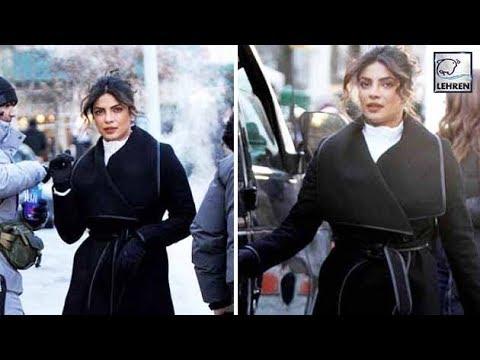 Priyanka Chopra's AMAZING Look For Quantico 2 Wint