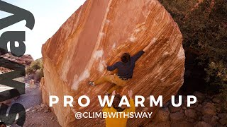 How Pro Climbers Project Bouldering Outdoors | Climb With Sway by  WeDefy