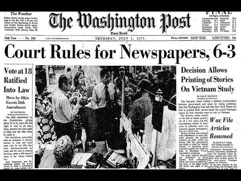 James DiEugenio: 'The Post' and The Pentagon Papers