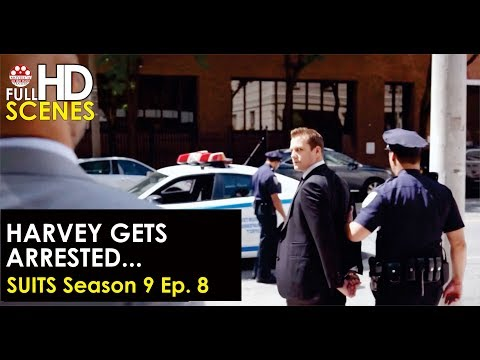 Suits Season 9 Ep. 8: Harvey gets arrested and fights back Full HD