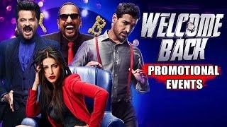 Welcome Back Movie (2015) | John Abraham, Nana Patekar, Anil Kapoor | Pre Release Promotion